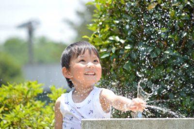 水遊び 公園 茨城 子供