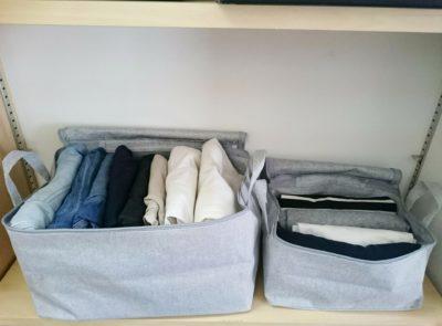 無印 ボックス 衣替え 収納ケース 布