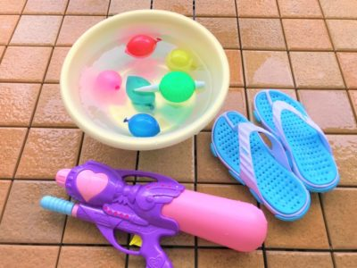水遊び 1歳児 道具