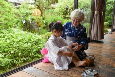祭り 髪型 子供 おばあちゃんと孫
