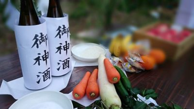 祭壇 作り方 自宅 野菜