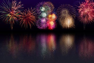 釜山 花火大会 2020 カラフル花火
