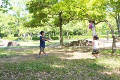 水遊び 宇都宮 公園 自然
