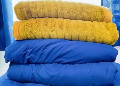 衣替え 毛布 洗う 毛布