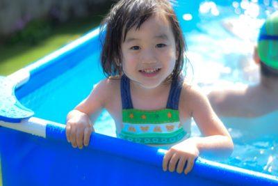 水遊び 公園 北摂 初プール