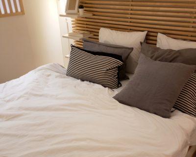 衣替え 毛布 洗う ベッド