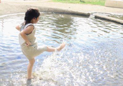 水遊び 公園 名古屋 じゃぶじゃぶ池