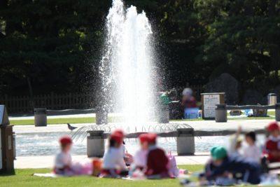 水遊び 公園 茨城 噴水 遠足