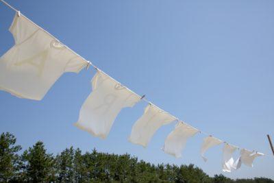 キャンプ 子供 洗濯