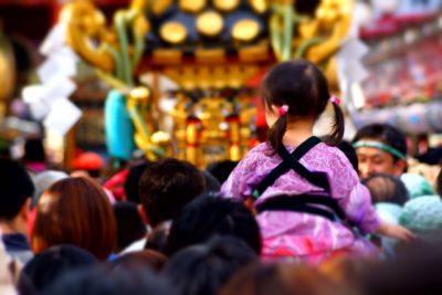 祭り 播州 人混み