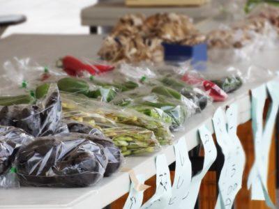 フリーマーケット バザー 違い 野菜販売所
