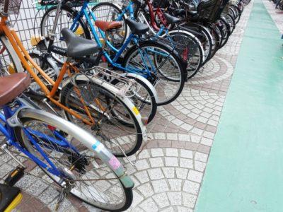多摩川 自転車 フリーマーケット 駐輪場