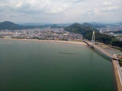 和歌山 マリーナシティ 潮干狩り 広い海