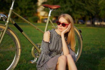 荒川 フリーマーケット 自転車 女性
