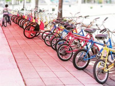 多摩川 自転車 フリーマーケット レンタル