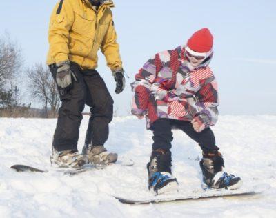 スノーボード 子供 リード 親子