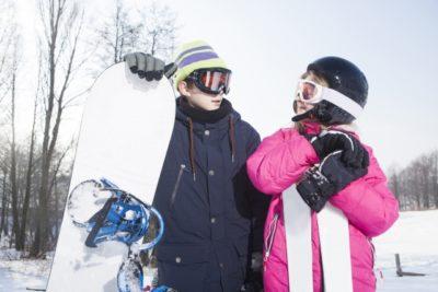 スノーボード ビンディング 角度 子供 スタンス 兄弟