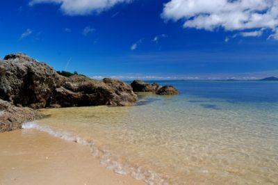 潮干狩り 三重 五主海岸 綺麗な海