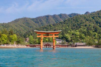 潮干狩り 広島 カレンダー 鳥居