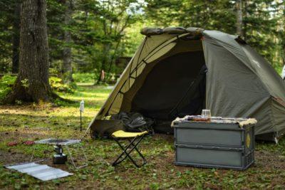 3人家族 キャンプ ブログ テント