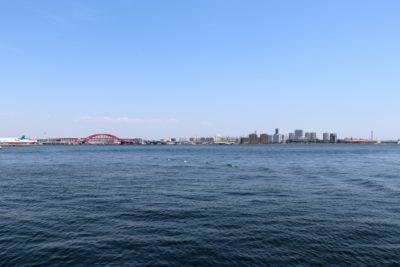 神戸ポートアイランド フリーマーケット 海