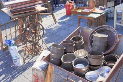 明石市民広場 フリーマーケット 食器