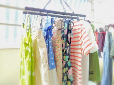 フリーマーケット 子供 服 値段 洗濯物