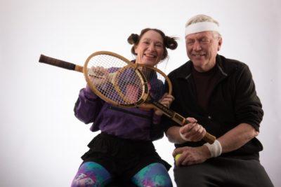 テニス 子供 夫婦
