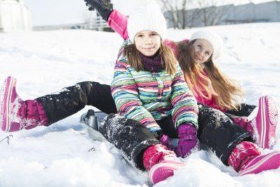 北海道 スキー 子供 服装 姉妹