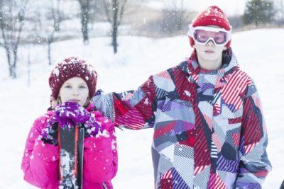 しまむら 子供 スキー ウェア 兄弟