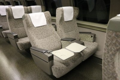 新幹線 大人 2人 子供 2人 シート