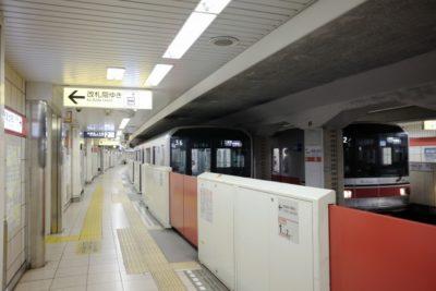 電車 子供 お出かけ 地下鉄
