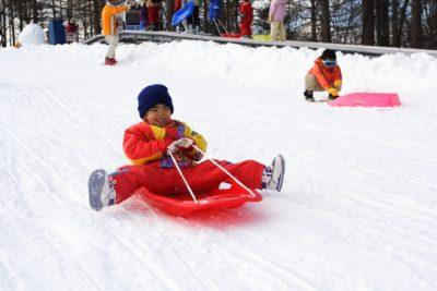 北海道 スキー 子供 服装 そり