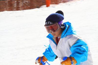 北海道 スキー場 子供 連れ 男の子