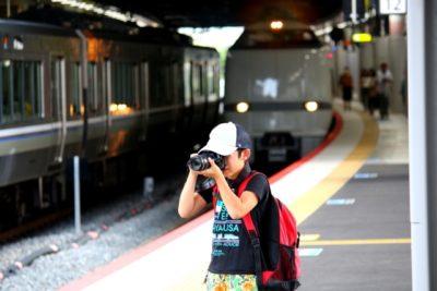 電車 子供 イベント 関西 写真