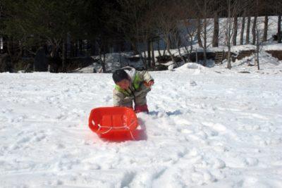裏磐梯スキー場 子供 男の子