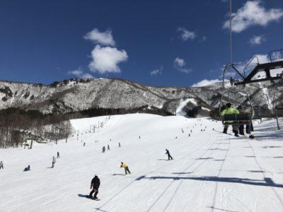 福島県 スキー場 子供 リフト