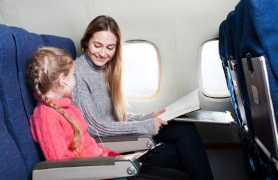 飛行機 大人 一人 子供 二人 親子