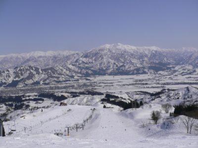 新潟県 スキー場 子供 無料 雪山