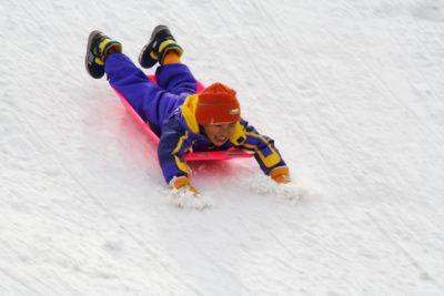 岩手 スキー場 子供 ソリ