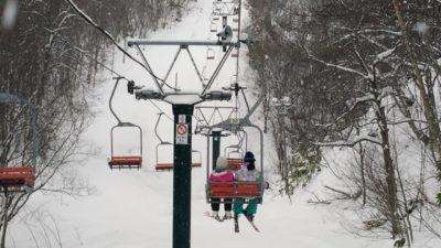 八ヶ岳 スキー場 子供 リフト