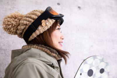 群馬 スキー場 子供 スクール 女性