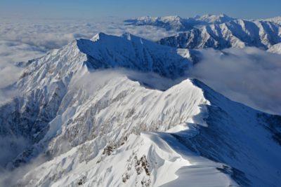 富山県 スキー場 子供 雪山