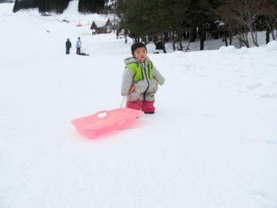 岐阜 スキー場 子供 スクール ソリ