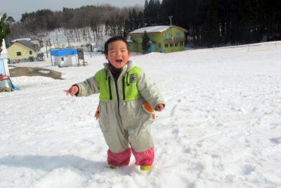 長野県 スキー場 子供 男の子