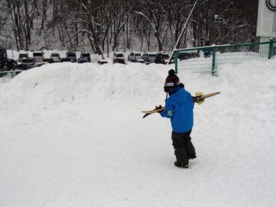 東京 近い スキー場 子供 男の子