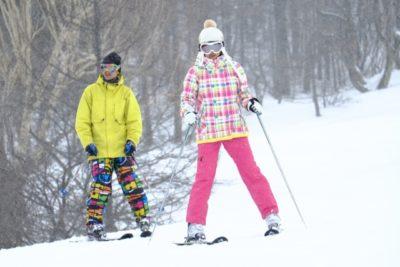 琵琶湖 バレイ スキー場 子供 兄弟