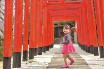 日枝神社 七五三 着替え 女の子