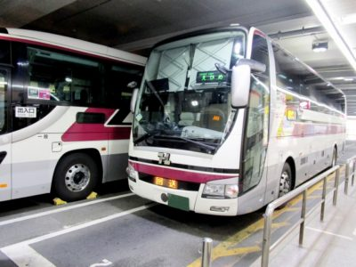 ディズニーランド バス 子供 高速バス