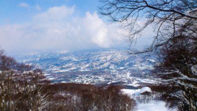 越後湯沢 スキー場 子供 山